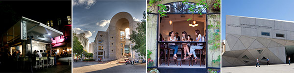Buntes Angebot in Tel Aviv