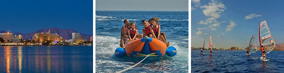 Wassersport und Badeurlaub Eilat