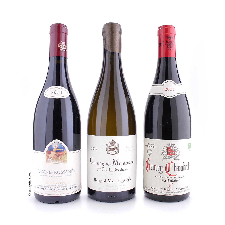 Burgunder-Verkostung