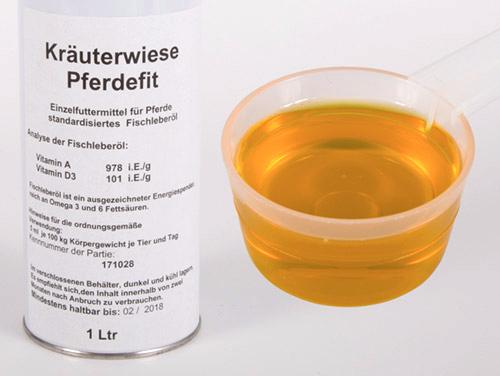 PFERDEFIT (Fischleberöl)