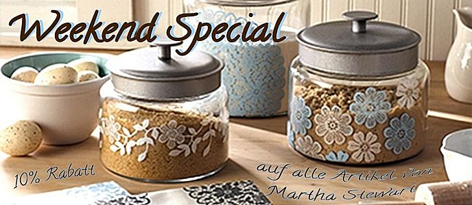 Weekend Special Martha Stewart