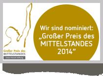 Bild: Großer Preis des MITTELSTANDES 2014