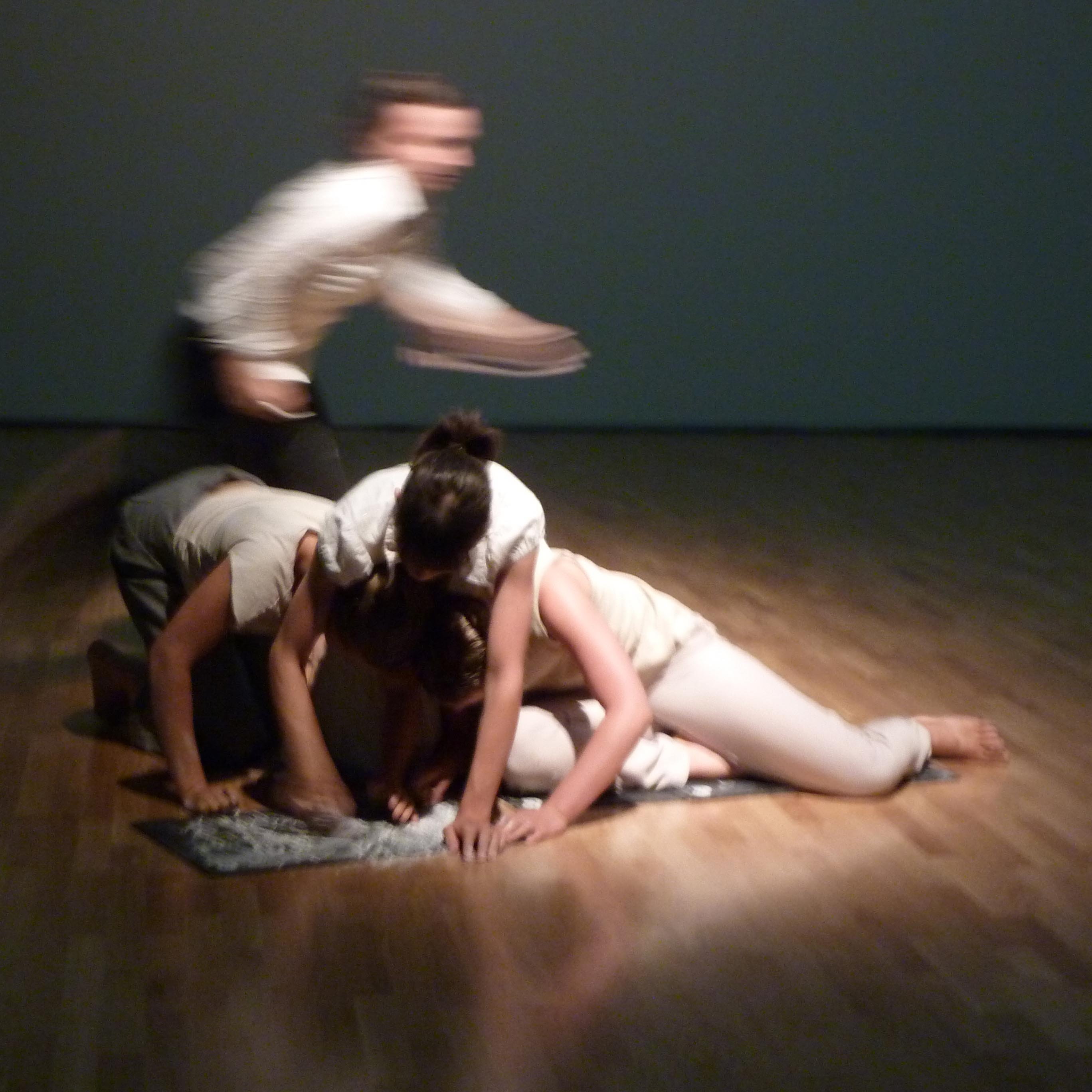 "Scene from »Zucker und andere Gelüste« (""Sugar and other cravings""), Choreography by Jenny Ribbat, © Emma Rydberg, 2011"
