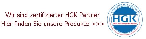 Wir sind zertifizierter HGK Partner
