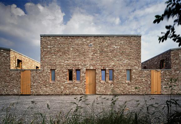 "Gästehaus ""Kloster"", Raketenstation Hombroich, © Tomas Riehle"