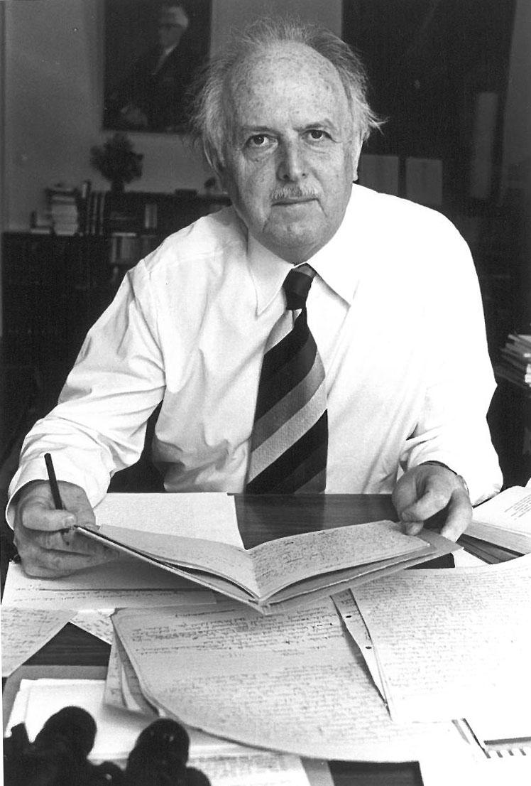 Prof. Dr. Dr. h.c. mult. Walter Biemel