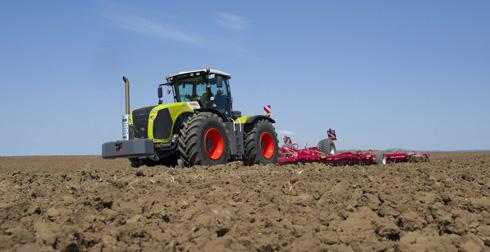 Демотур трактора XERION продолжается!