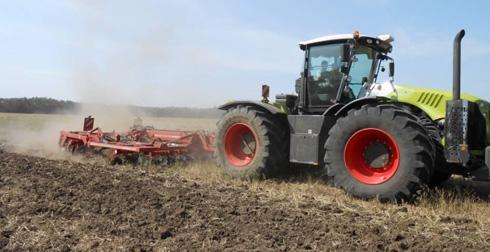 CLAAS тракторы. Испытано – одобрено.  XERION 4500 TRAC.