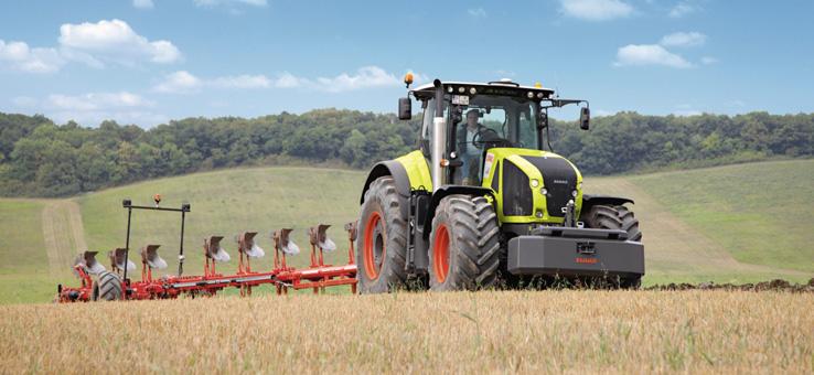 Аренда трактора AXION. Убедитесь в его производительности при минимальном расходе топлива.