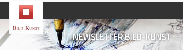 Newsletter Bild-Kunst