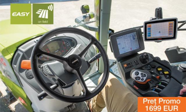 Sistemele de ghidare CLAAS. Intuitive, fiabile, precise.  CLAAS GPS PILOT S7. Pre? Promo: 1699 EUR