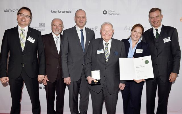 Helmut Claas a primit Medalia Diesel