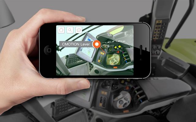 Cabina tractorului pătrunde în mediul virtual - ghidul interactiv pentru tractoare CLAAS