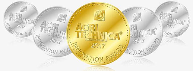 ?tiri de la Agritechnica 2017 - CLAAS c�?tig? o medalie de aur ?i patru medalii de argint