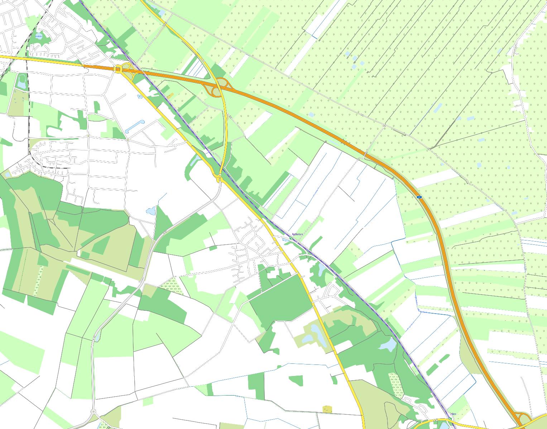 onmaps Auszug Vegetation