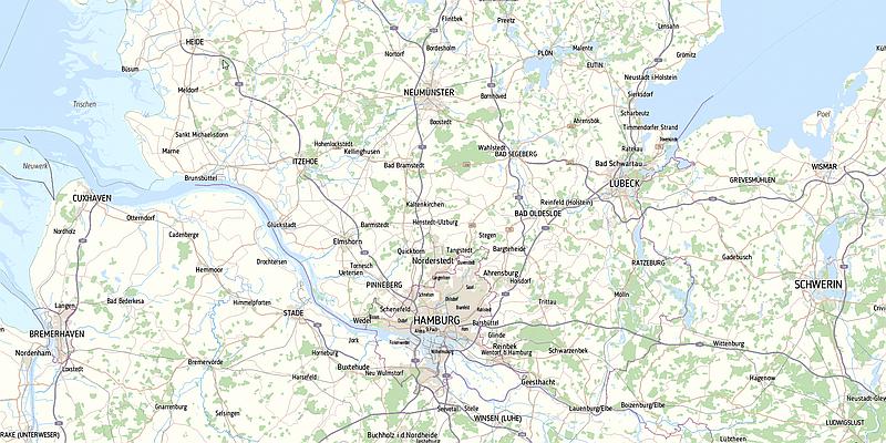 onmaps_dezent Norddeutschland