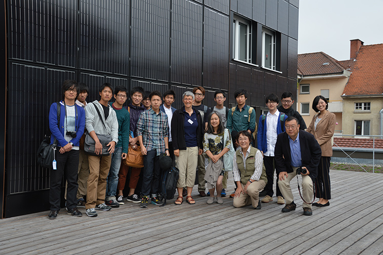 Besucher bei solarcomplex