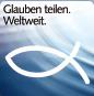 Logo Glauben teilen. Weltweit