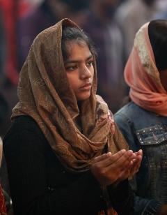 Gottesdienst in Lahore / Pakistan
