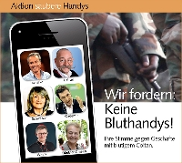 """Online-Petition der Aktion """"Saubere Handys"""""""
