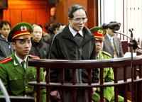 Blogger Le Quoc Quan vor Gericht