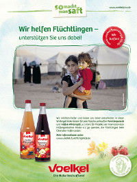 Naturkostsafterei Voelkel unterstützt missio Aachen