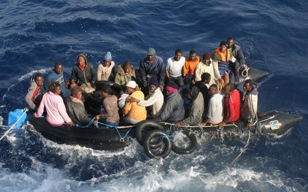 Menschen auf der Flucht - missio hilft Familien in Not