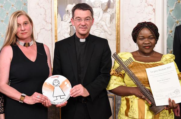 Shalom-Preis für missio-Projektpartnerin Thérèse Mema