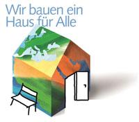"""Logo """"Ein Haus für Alle"""""""
