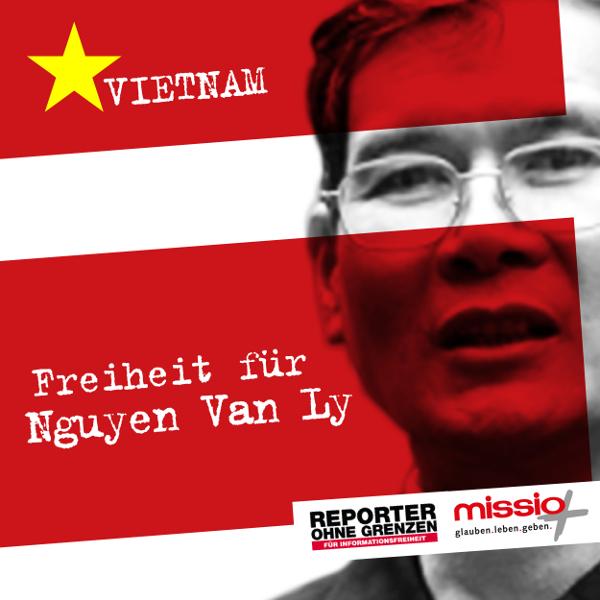Freiheit Für Nguyen Van Ly! #FreeLy