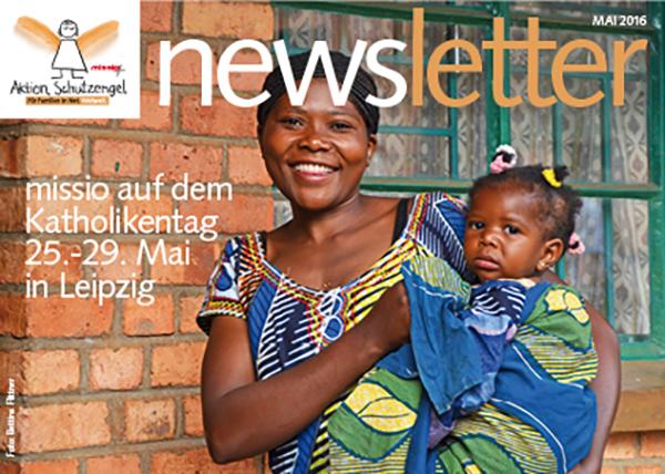 Newsletter Aktion Schutzengel - Mai 2016