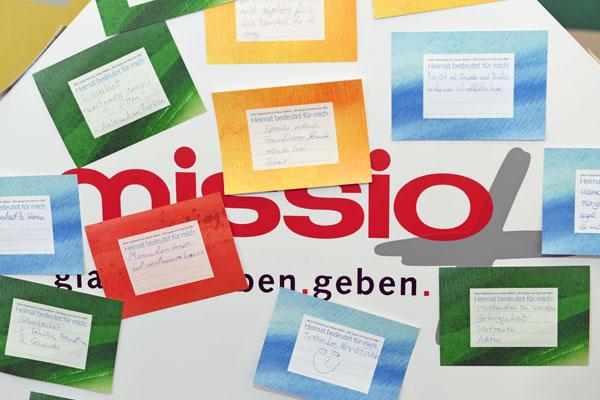 """missio-Aktion """"Ein Haus für Alle"""""""