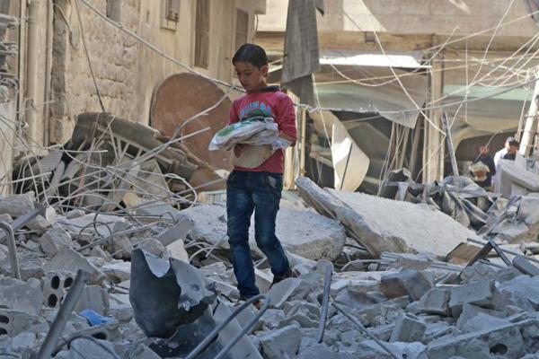 Winterhilfe für Aleppo