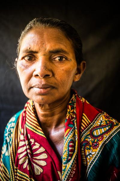 Nilandii Nayak sorgt sich um ihren Mann, der unschuldig in Haft ist.