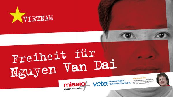 Freiheit für Nguyen Van Dai