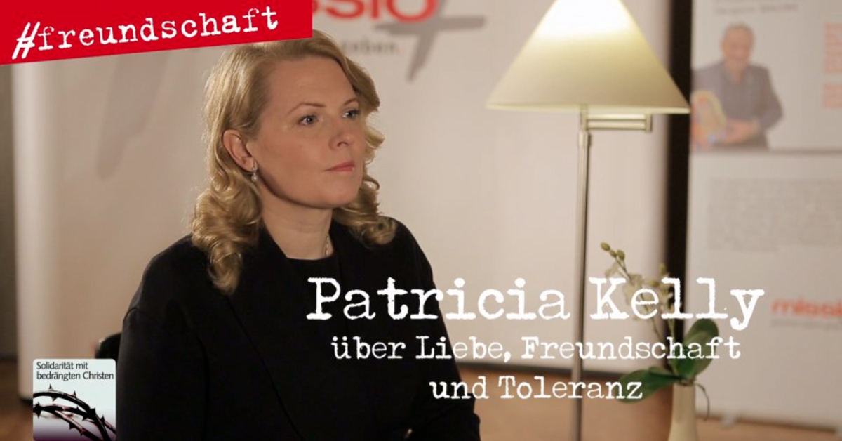 Patricia Kelly und missio: Neue DVD für Religionsfreiheit