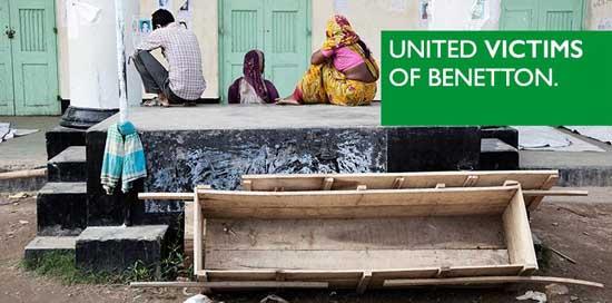 Werbeparodie: United Victims of Benetton