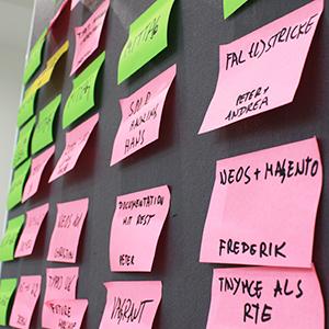 Sessionvorschläge, Sessionplan & Unterlagen