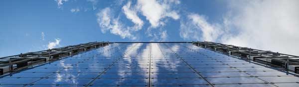 Solarmodule aus Glas