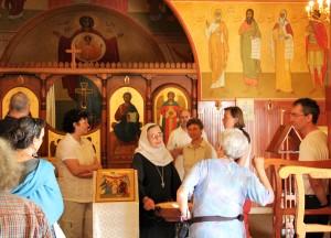 Gespräch mit Mère Bushra, Äbtissin des kontemplativen Klosters der Verkündigung in Nazareth