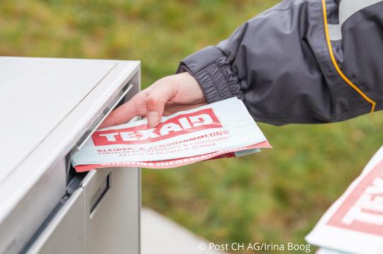 Zusammenarbeit mit der Post