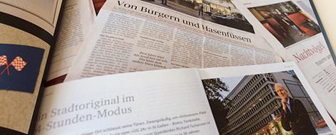 Medienrummel um UG 24 St. Gallen