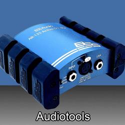 Audiotools  bei den Audioprofis von Mink Audio Professional.