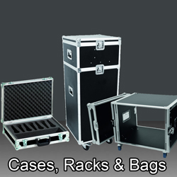 Cases, Racks & Bags  bei den Audioprofis von Mink Audio Professional.