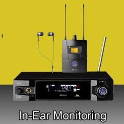 InEar Monitoring  bei den Audioprofis von Mink Audio Professional.
