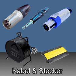 Kabel & Stecker  bei den Audioprofis von Mink Audio Professional.