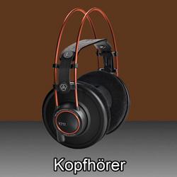Kopfhörer  bei den Audioprofis von Mink Audio Professional.