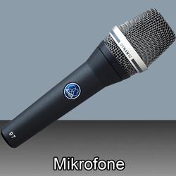 Mikrofone bei den Audioprofis von Mink Audio Professional.