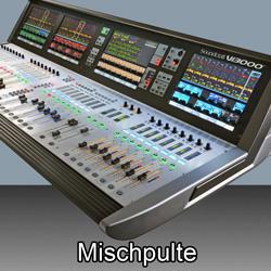 Mischpulte  bei den Audioprofis von Mink Audio Professional.