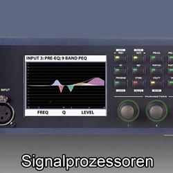 Signalbearbeitung  bei den Audioprofis von Mink Audio Professional.